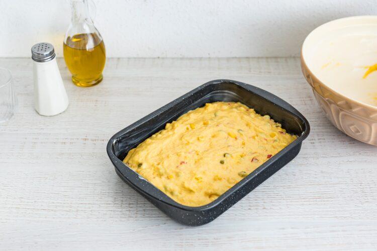 Pikantny chlebek kukurydziany z mieszanką meksykańską - Krok 5