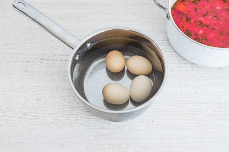 Zupa chrzanowa z buraczkami - Krok 5