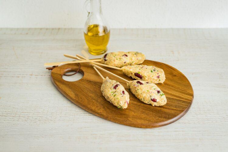 Kebab z selera z czerwoną fasolą - Krok 4