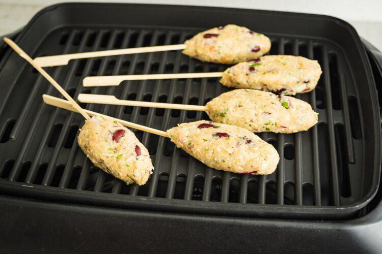 Kebab z selera z czerwoną fasolą - Krok 5