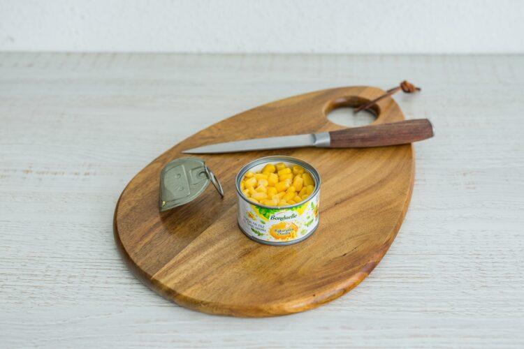 Smoothie z jarmużu z kiwi, ananasem i kukurydzą - Krok 3