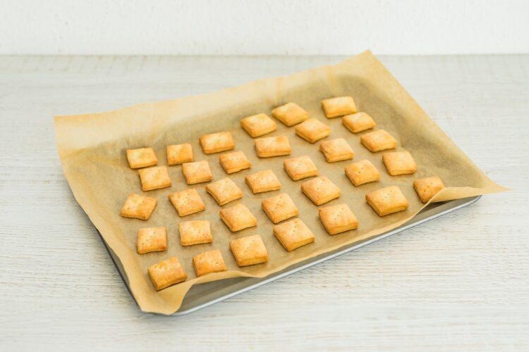 Krakersy serowe z dipem z czarnej fasoli - Krok 3