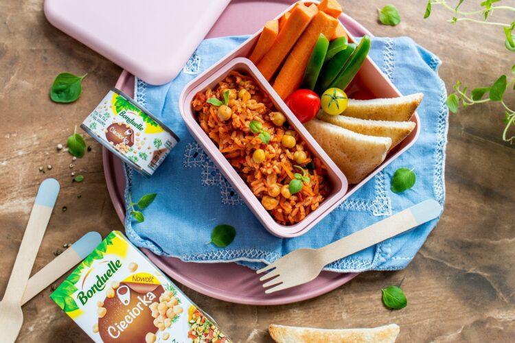 Domowy paprykarz z ryżem