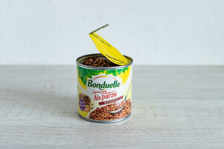 Sałatka z soczewicy z pomidorami i papryką - Krok 3