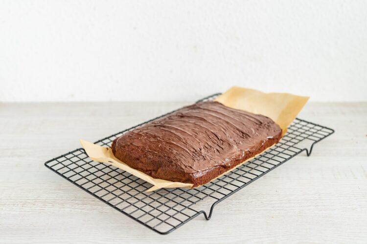 Piernik z cieciorki w czekoladzie - Krok 5
