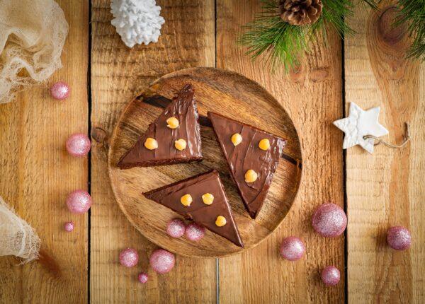 Piernik z cieciorki w czekoladzie