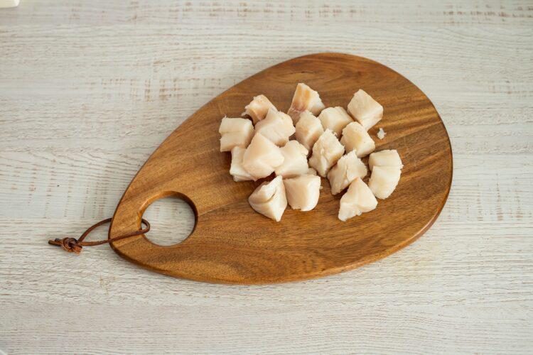 Zupa rybna z grzybami i szpinakiem - Krok 4