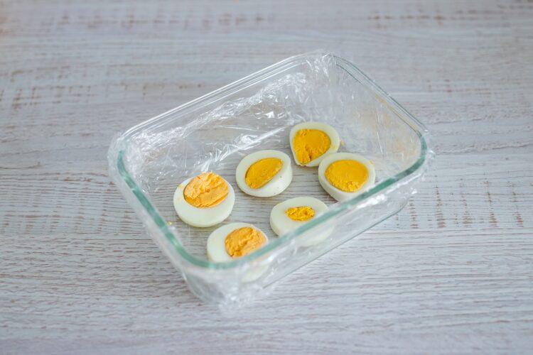 Kolorowa terrina jarzynowa z jajkiem - Krok 2