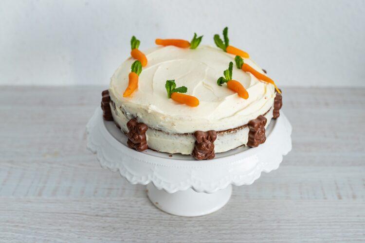Ciasto marchewkowo-kukurydziane z białą czekoladą - Krok 5
