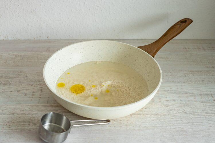 Szybki ryż z warzywami - Krok 1