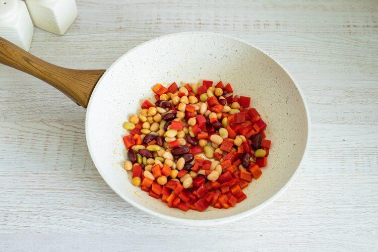 Szybki ryż z warzywami - Krok 4