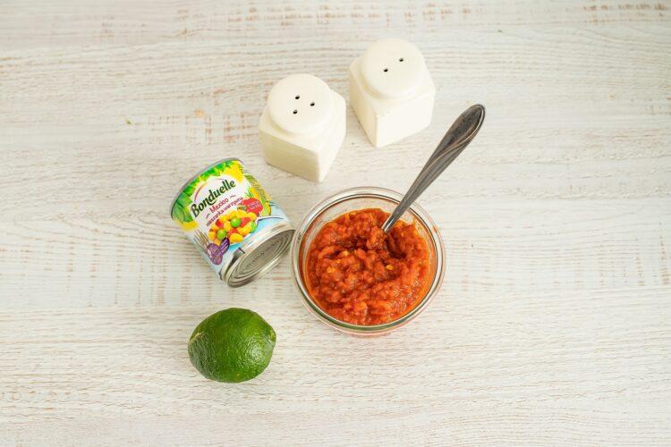 Pieczone kotleciki z kalafiora z salsą meksykańską - Krok 5