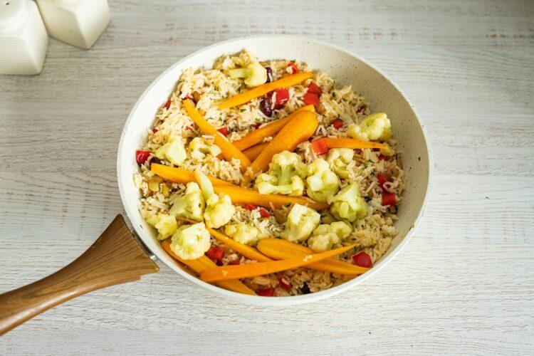 Szybki ryż z warzywami - Krok 5