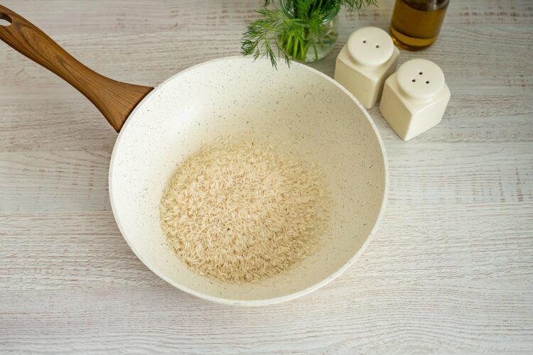 Pieczony łosoś z ryżem po meksykańsku - Krok 2