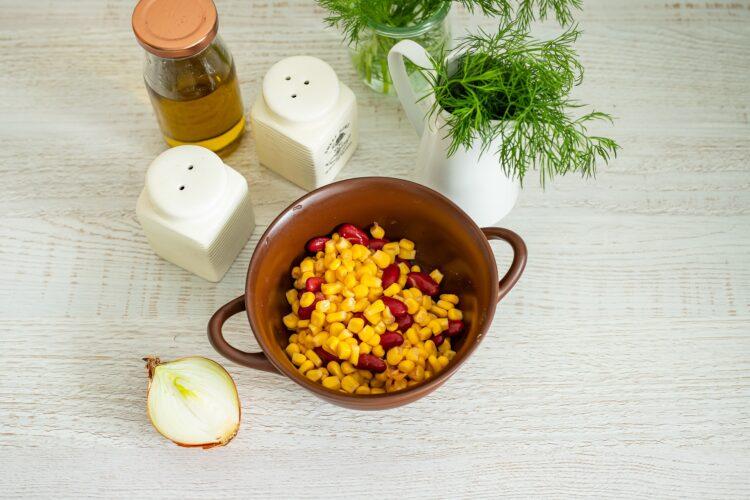 Placki ziemniaczane z jajkiem w koszulce z salsą z kukurydzy - Krok 3