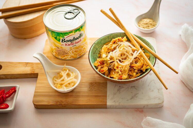 Kimchi z kiełkami fasoli mung