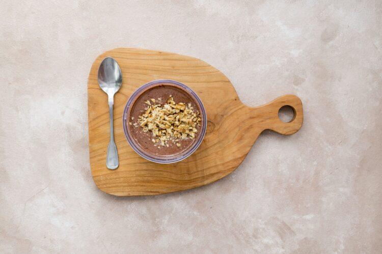 Brownie z fasoli z cynamonem i orzechami - Krok 3