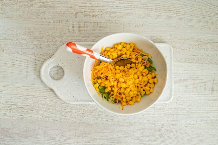 Placki z kukurydzy i dyni - Krok 2