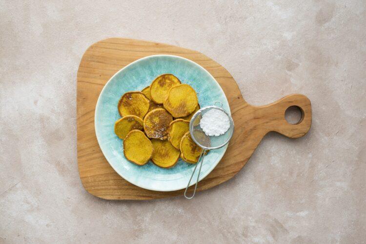 Placuszki z marchewki i banana - Krok 4