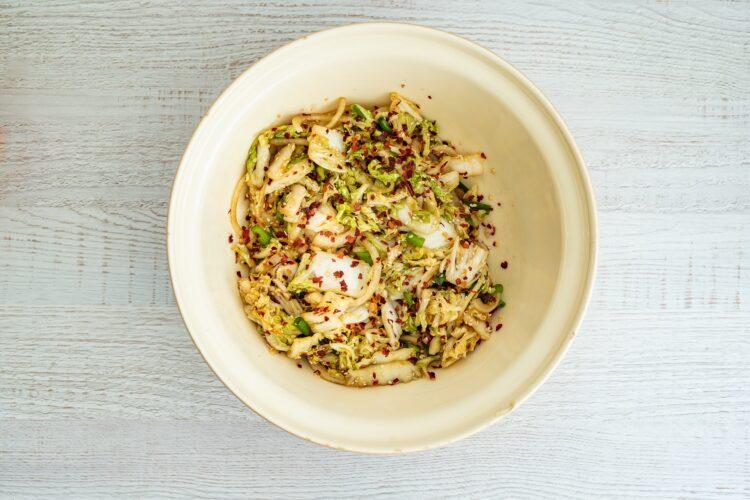 Kimchi z kiełkami fasoli mung - Krok 4