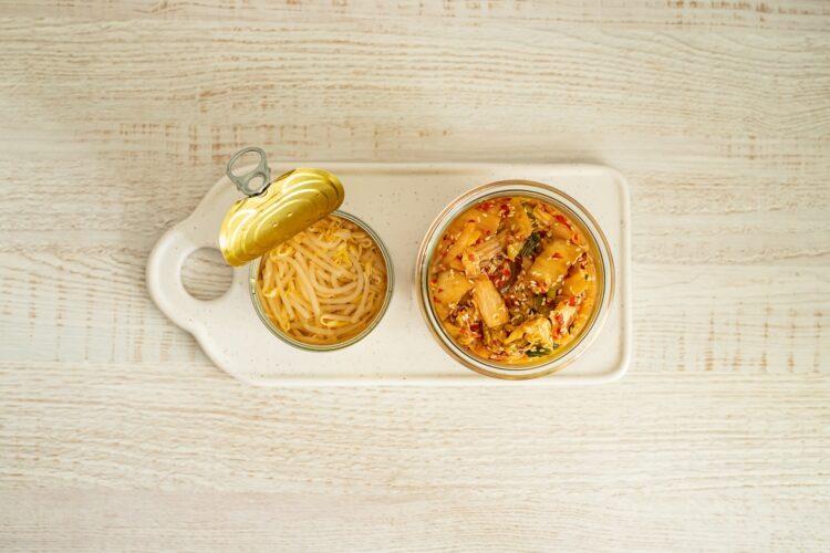 Kimchi z kiełkami fasoli mung - Krok 5
