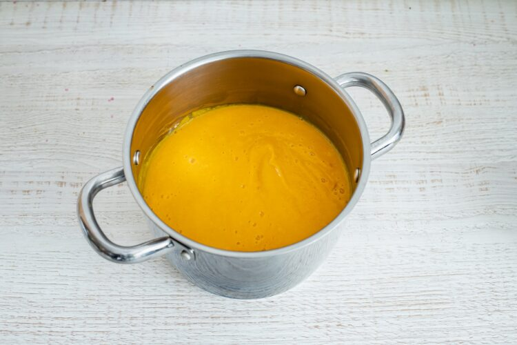 Krem z dyni i kukurydzy z serem pleÅ›niowym - Krok 5