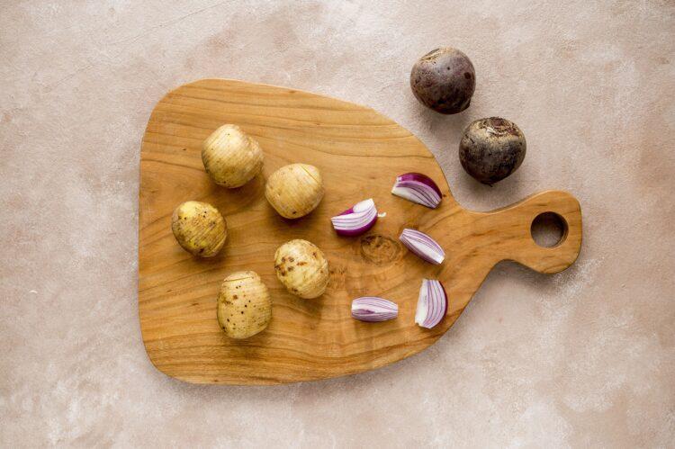Pikantne udka z warzywami z ziołowym sosem - Krok 2
