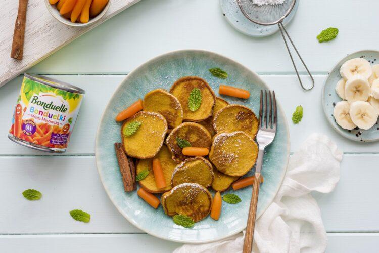 Placuszki z marchewki i banana