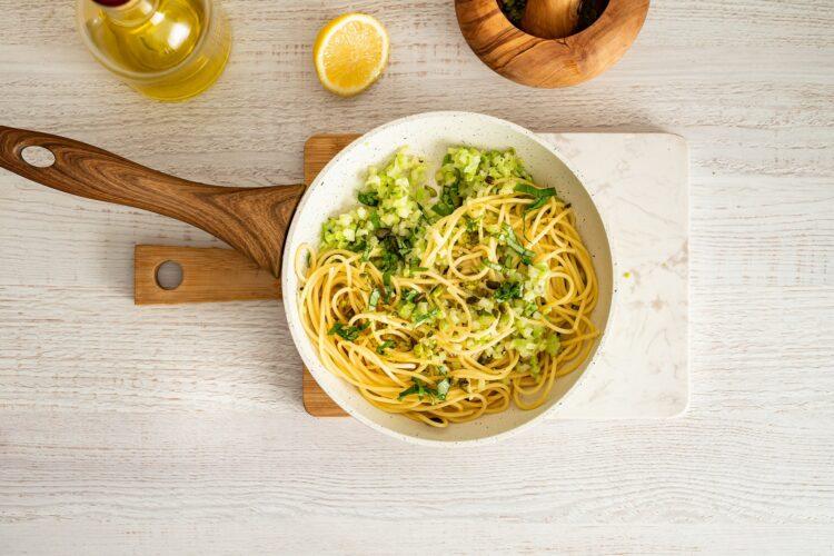 Makaron z brokułowym pesto - Krok 5