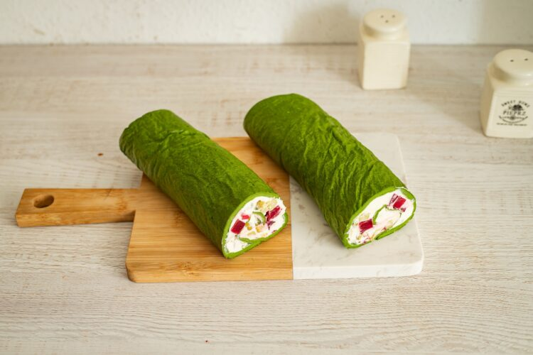 Rolada szpinakowa z warzywami - Krok 5