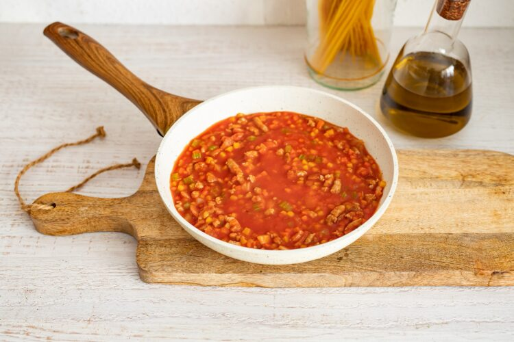 Spaghetti bolognese - Krok 4