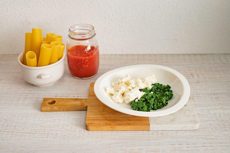 Cannelloni ze szpinakiem i serem - Krok 2