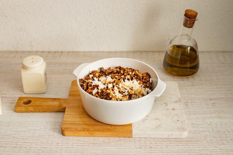 Wegańskie gołąbki z soczewicą, ryżem i grzybami - Krok 3