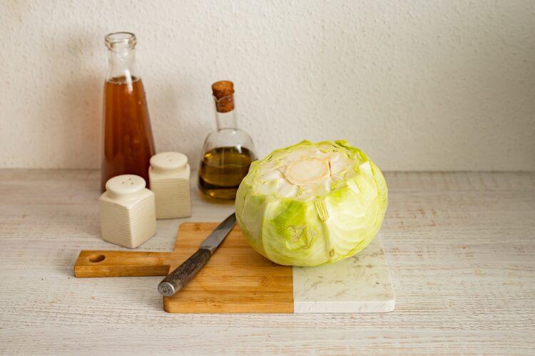 Wegańskie gołąbki z soczewicą, ryżem i grzybami - Krok 4