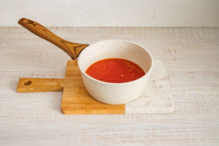 Cannelloni ze szpinakiem i serem - Krok 4