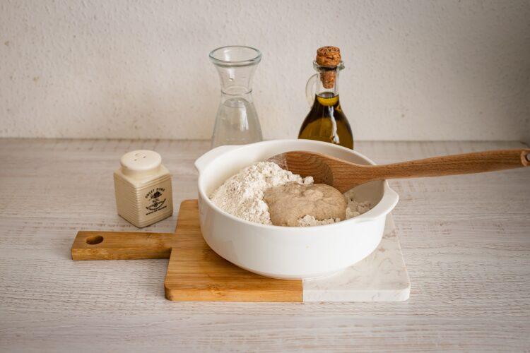 Chleb żytni na zakwasie z soczewicą - Krok 1