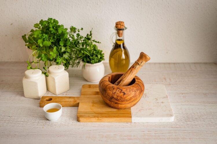 Gruzińska sałatka z czerwonej fasoli - Krok 1