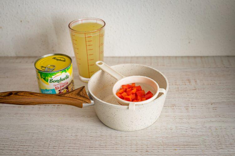 Wegańskie tymbaliki z warzywami - Krok 1