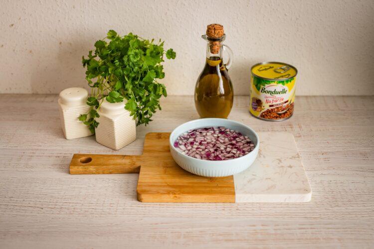 Marokańska sałatka z soczewicy - Krok 2