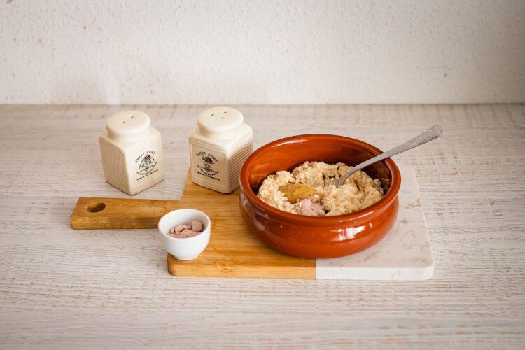 Pasta bezjajeczna ze szczypiorkiem - Krok 2
