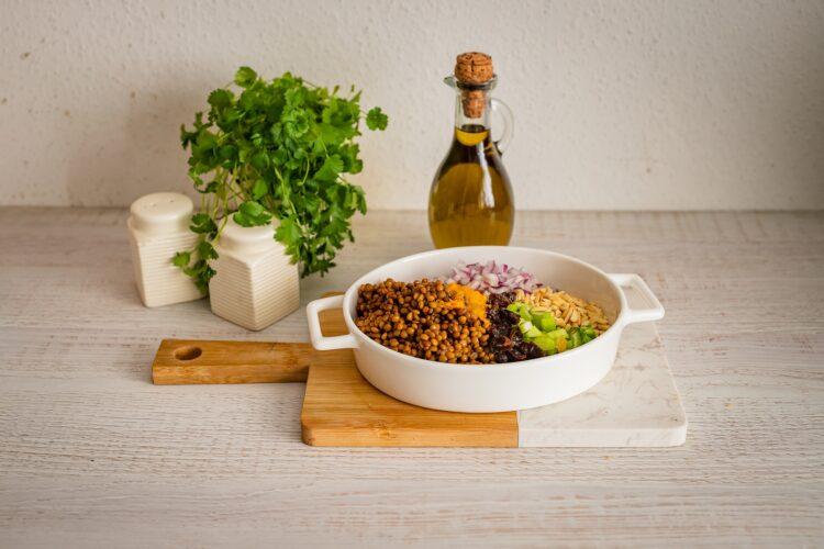 Marokańska sałatka z soczewicy - Krok 3