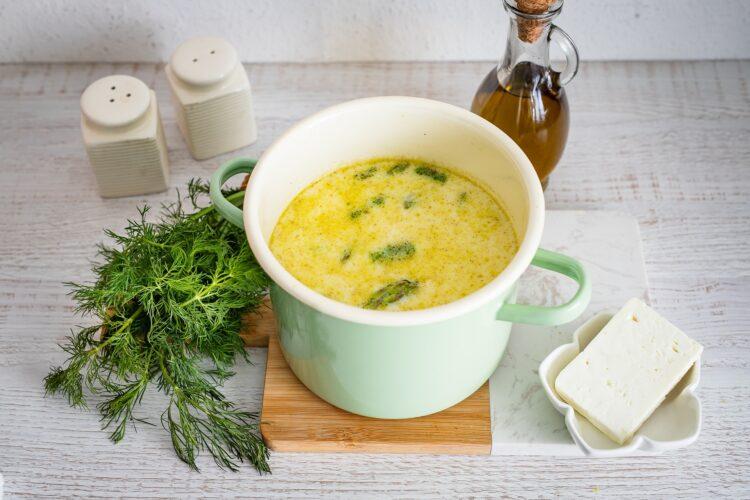 Zupa szparagowa z cieciorkÄ… i fetÄ… - Krok 4