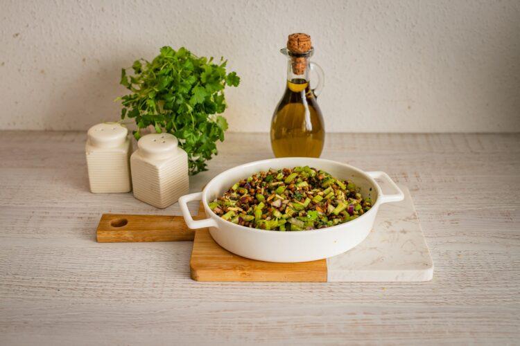 Marokańska sałatka z soczewicy - Krok 4