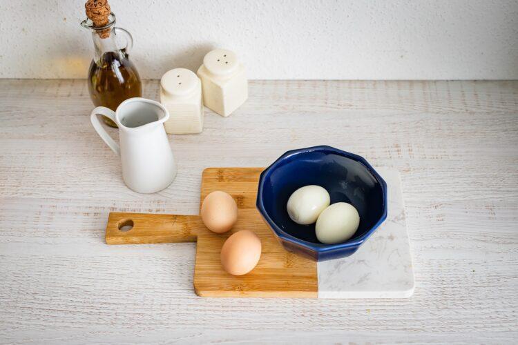 Zupa z cukinii z jajkiem i miksem fasoli z parmezanem - Krok 5