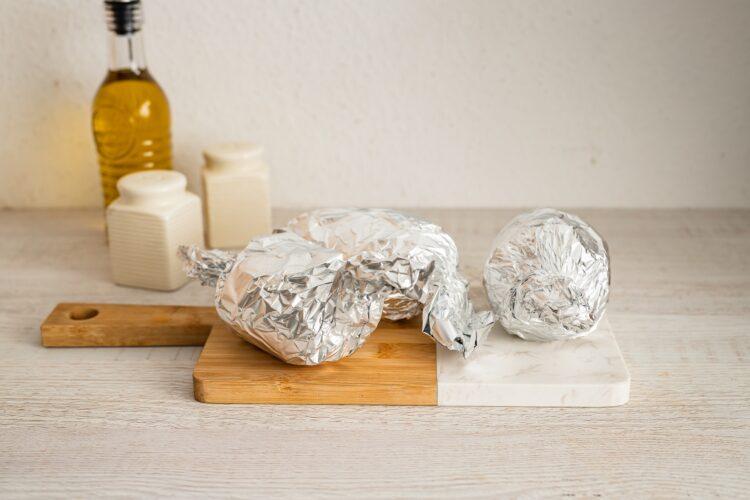 Ziemniaki faszerowane kaszÄ… z dyniÄ… - Krok 1