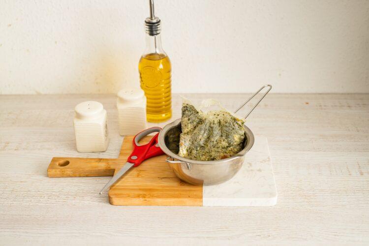 Tortilla hiszpańska z kaszą z cukinią - Krok 1