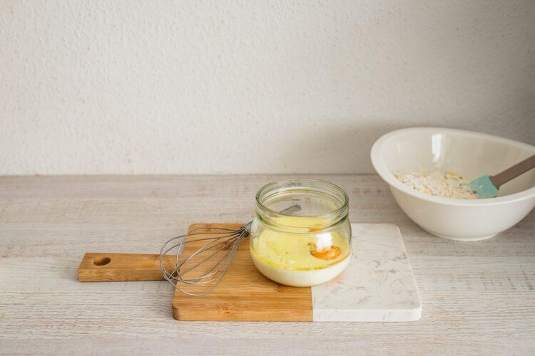 Minimuffinki serowe z kaszÄ… z borowikami - Krok 2