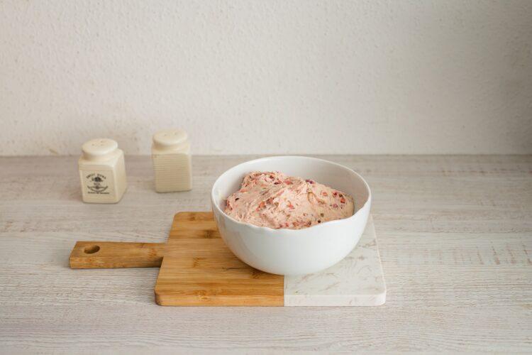 Bułeczki pszenne supełki z kaszą i burakiem - Krok 3